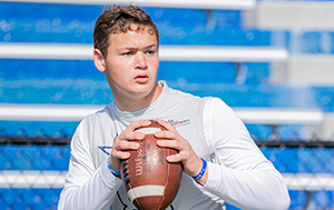 STOCK RISERS: TOP JUNIOR KC QB PROSPECTS MAKING NOISE IN '21 (2023)